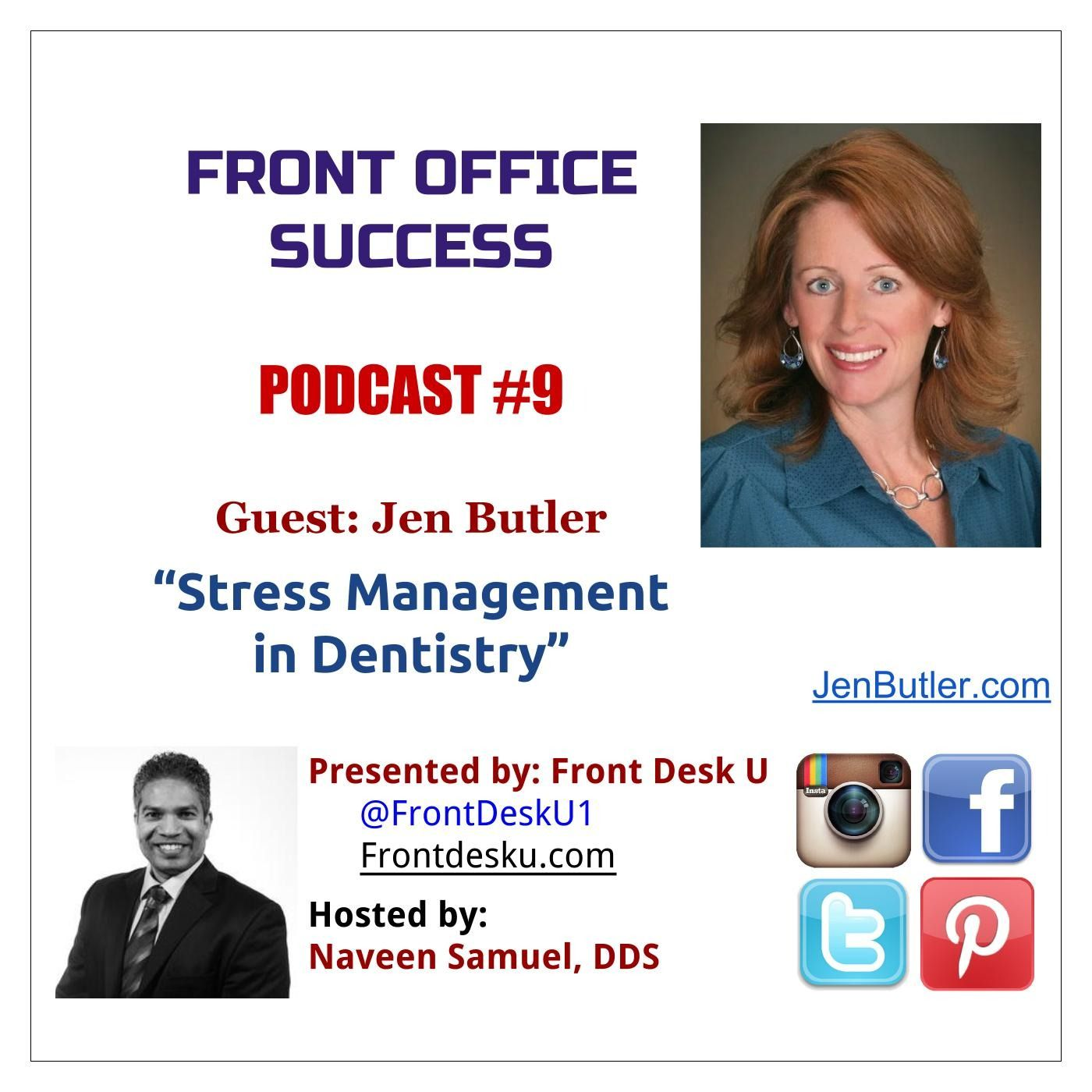 Front Office Success - Podcast #9 - Jen Butler