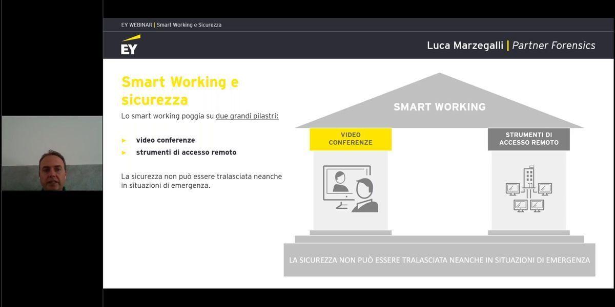 Webinar Smart Working Sicurezza