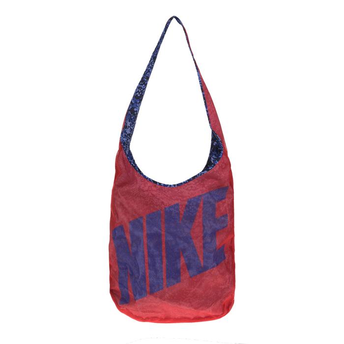 NIKE - Τσάντα διπλής όψης NIKE κόκκινη-μοβ