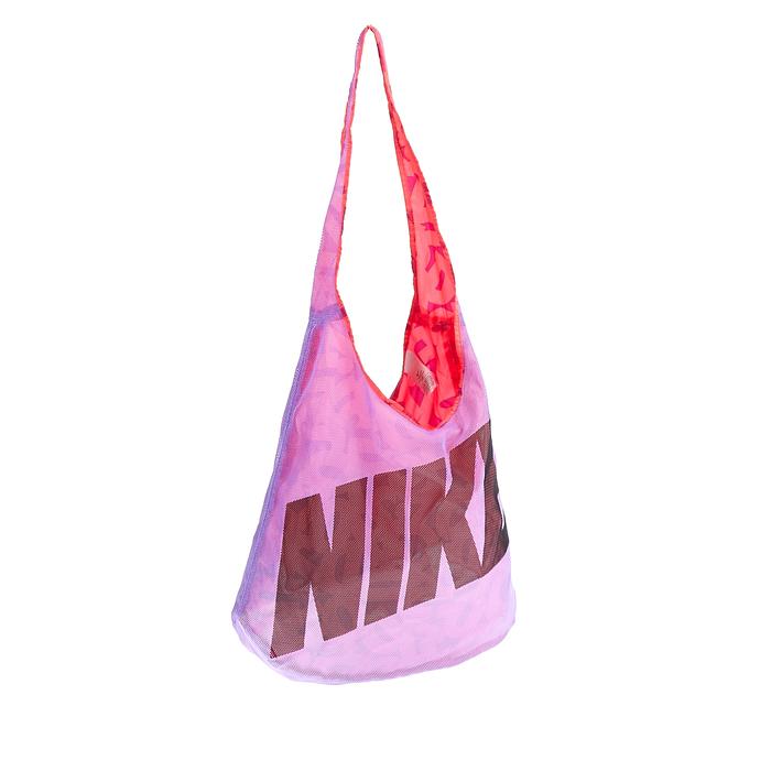 NIKE - Τσάντα NIKE GRAPHIC μωβ