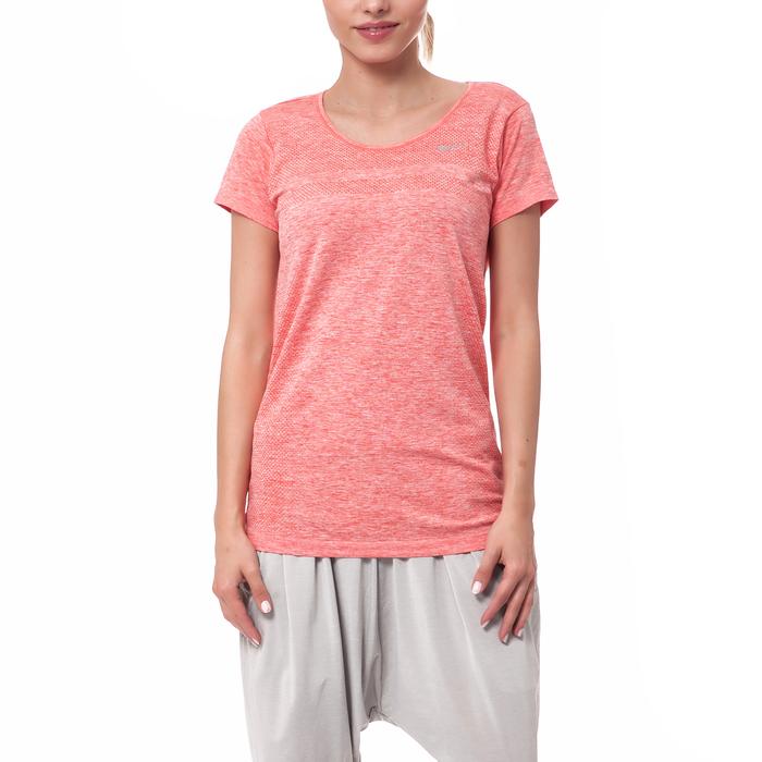 NIKE - Γυναικεία μπλούζα Nike πορτοκαλί-κόκκινη