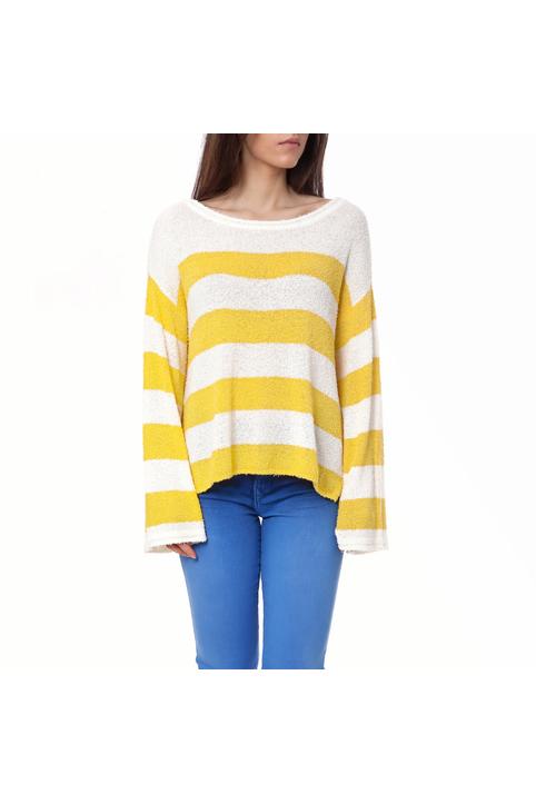 JUICY COUTURE - Γυναικείο πουλόβερ Juicy Couture κίτρινο