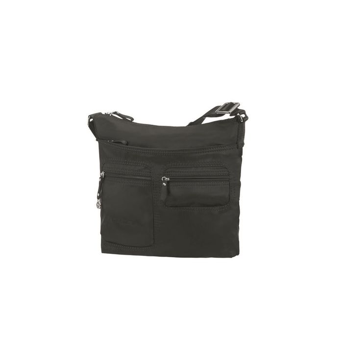 SAMSONITE - Γυναικεία τσάντα ώμου FLAT SHOULDER BAG IPAD μαύρη