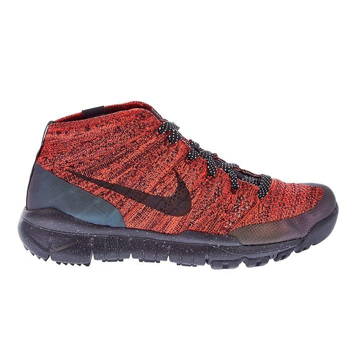 NIKE - Γυναικεία παπούτσια NIKE FLYKNIT TRNR CHUKKA FSB κόκκινα-μαύρα