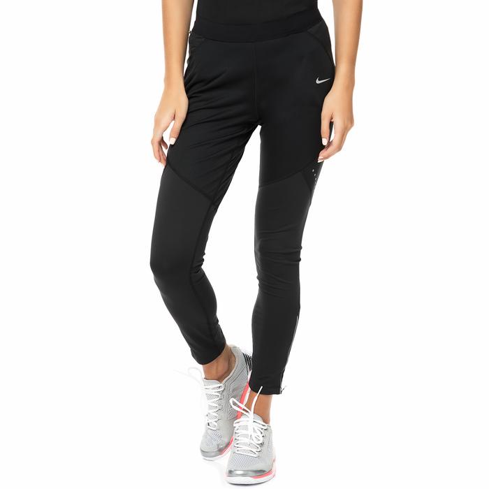 NIKE - Γυναικείο κολάν για τρέξιμο Nike SHIELD TIGHT μαύρο