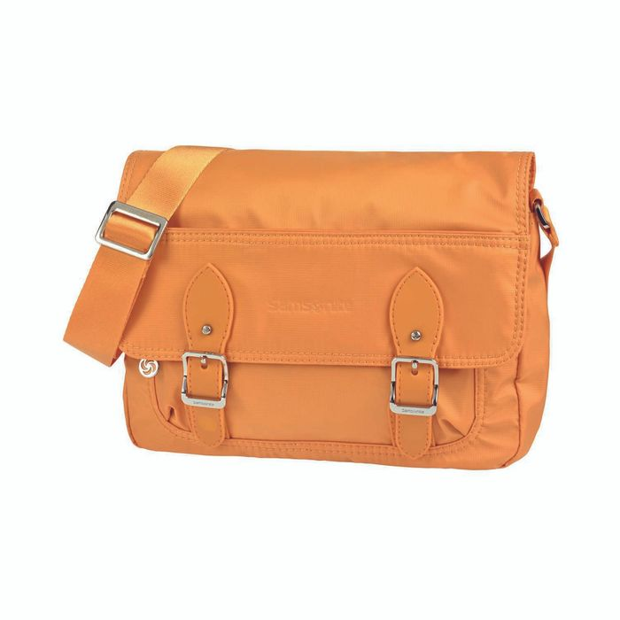 SAMSONITE - Γυναικεία τσάντα ώμου SAMSONITE MESSENGER πορτοκαλί