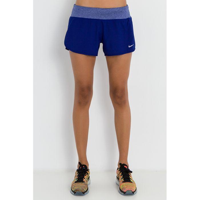 NIKE - Γυναικείο σορτς για τρέξιμο Nike FLX SHORT 3IN RIVAL μπλε