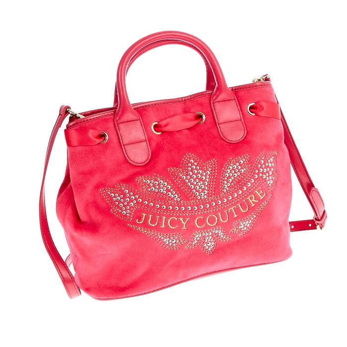 JUICY COUTURE - Γυναικεία τσάντα Juicy Couture κόκκινη-φούξια