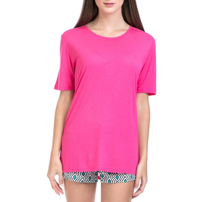 JUICY COUTURE - Γυναικεία μπλούζα JUICY COUTURE φούξια