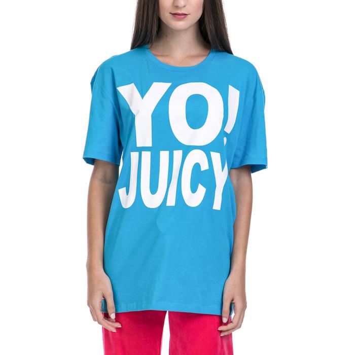 JUICY COUTURE - Γυναικεία μπλούζα JUICY COUTURE μπλε