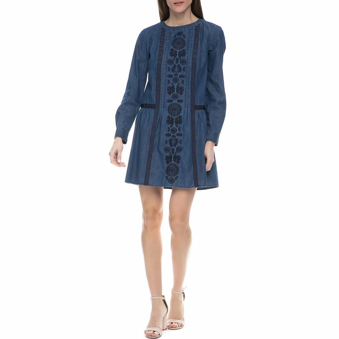 JUICY COUTURE - Γυναίκειο μίνι denim φόρεμα Juicy Couture μπλε