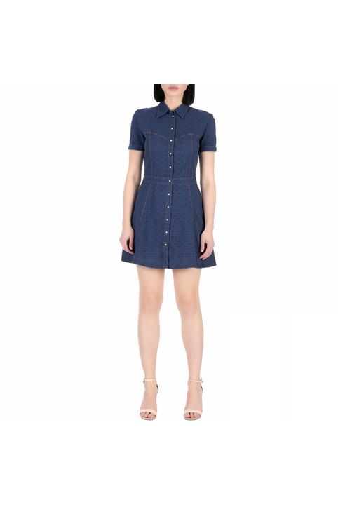 GUESS - Γυναικείο μίνι φόρεμα Guess MARAJA μπλε