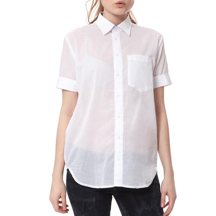 G-STAR - Γυναικείο πουκάμισο G-STAR RAW λευκό