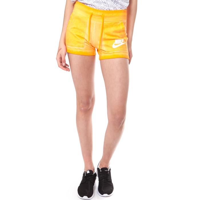NIKE - Γυναικείο σορτσάκι NIKE SHORT-WASH κίτρινο
