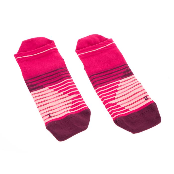 NIKE - Unisex κάλτσες Nike PERF Lightweight No Show Running ροζ κόκκινες