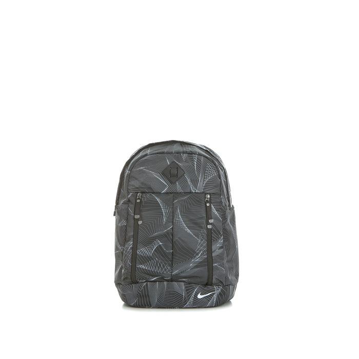 NIKE - Γυναικεία τσάντα πλάτης Nike Auralux μαύρη με print