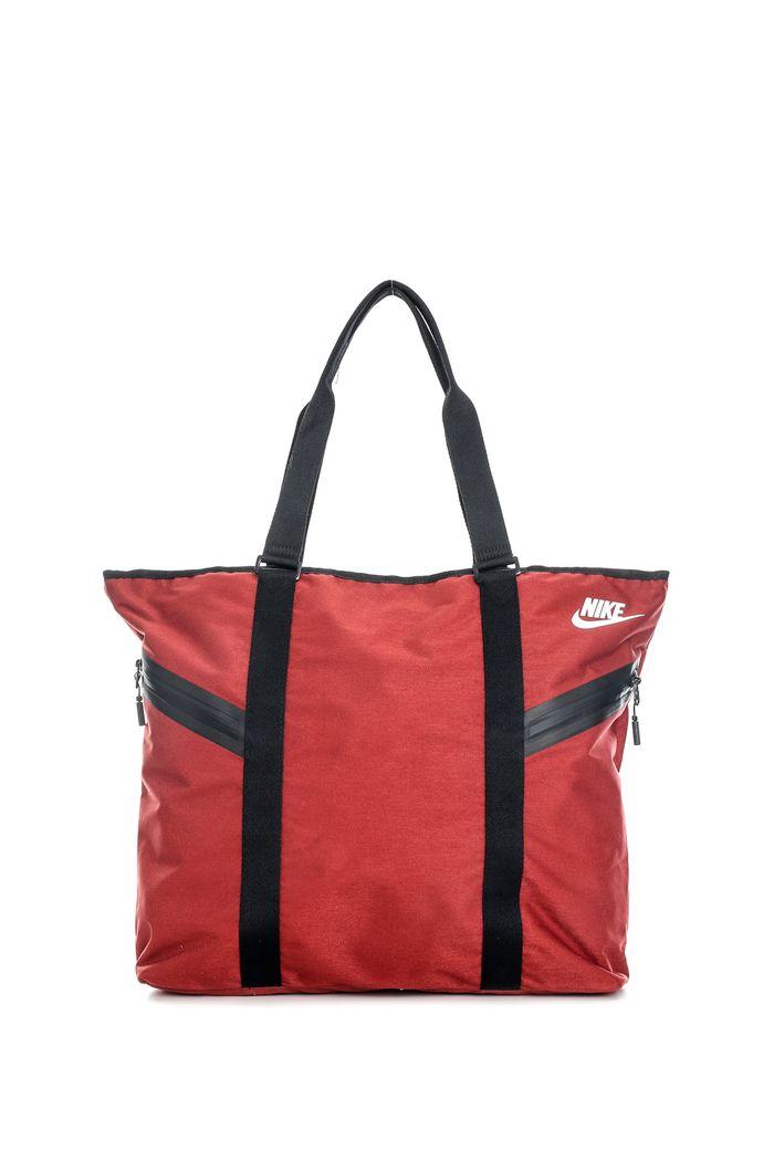 NIKE - Γυναικεία τσάντα ώμου Nike AZEDA TOTE PREMIUM κόκκινη