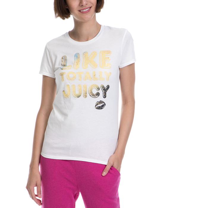 JUICY COUTURE - Γυναικεία μπλούζα JUICY COUTURE άσπρη