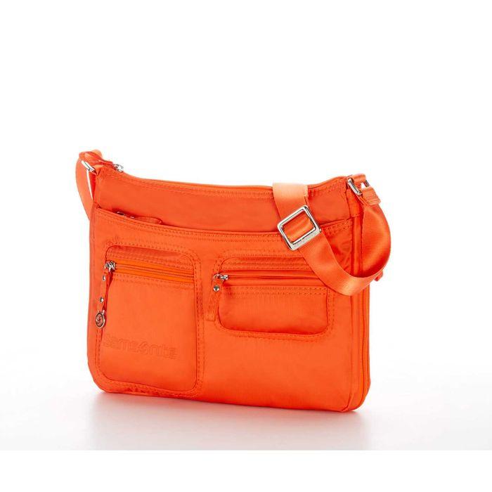 SAMSONITE - Γυναικεία τσάντα MOVE HOBO S EXP πορτοκαλί