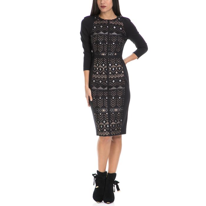 TED BAKER - Γυναικείο φόρεμα MILEAE TED BAKER μαύρο