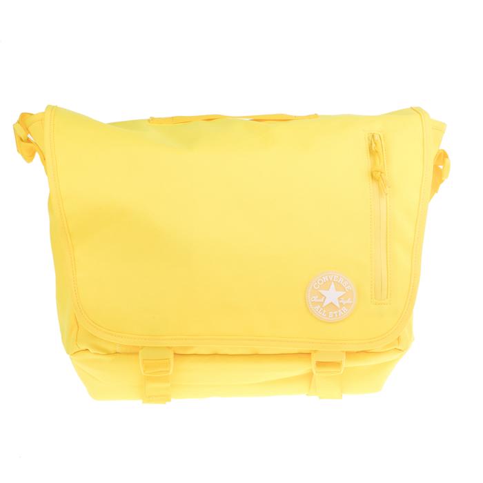 CONVERSE - Unisex τσάντα CONVERSE POLY MESSENGER κίτρινη