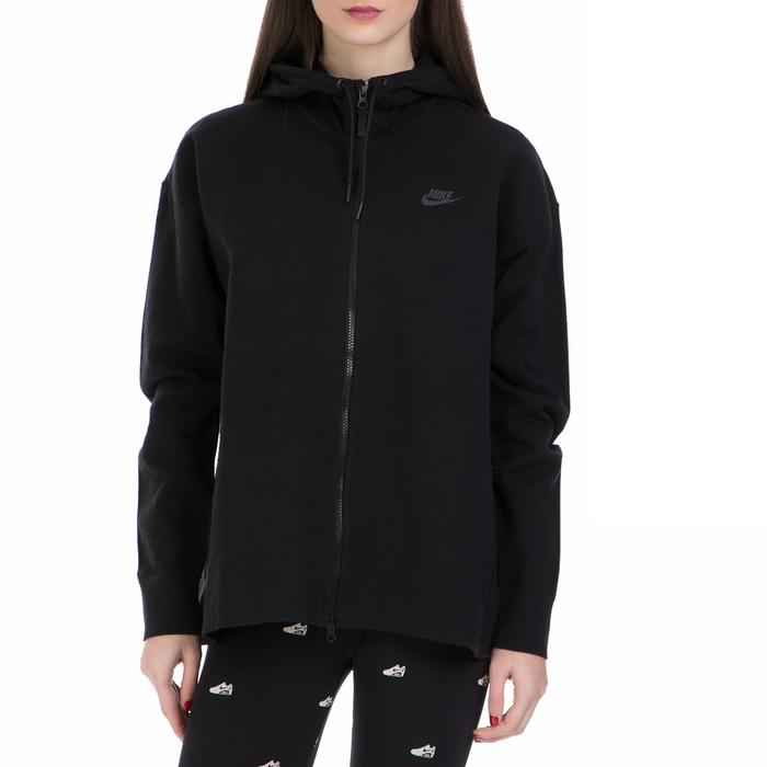 NIKE - Γυναικεία ζακέτα Nike Sportswear Tech μαύρη