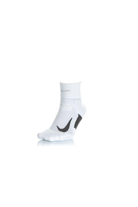 NIKE - Unisex κάλτσες για τρέξιμο NIKE ELT CUSH QT-RN λευκές
