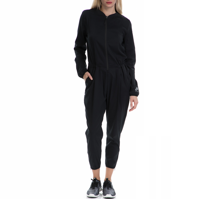 NIKE - Γυναικεία αθλητική ολόσωμη φόρμα ΝΙΚΕ μαύρη