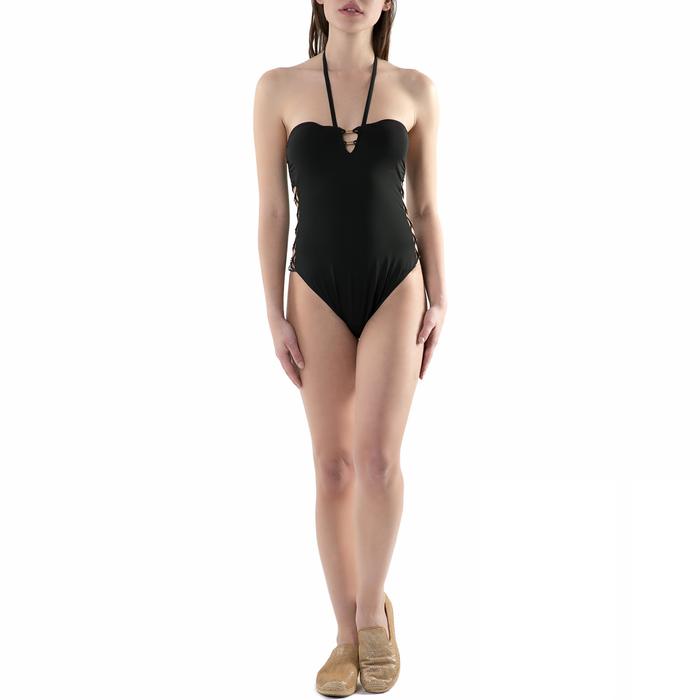 CK UNDERWEAR - Γυναικείο ολόσωμο μαγιό CK Underwear μαύρο