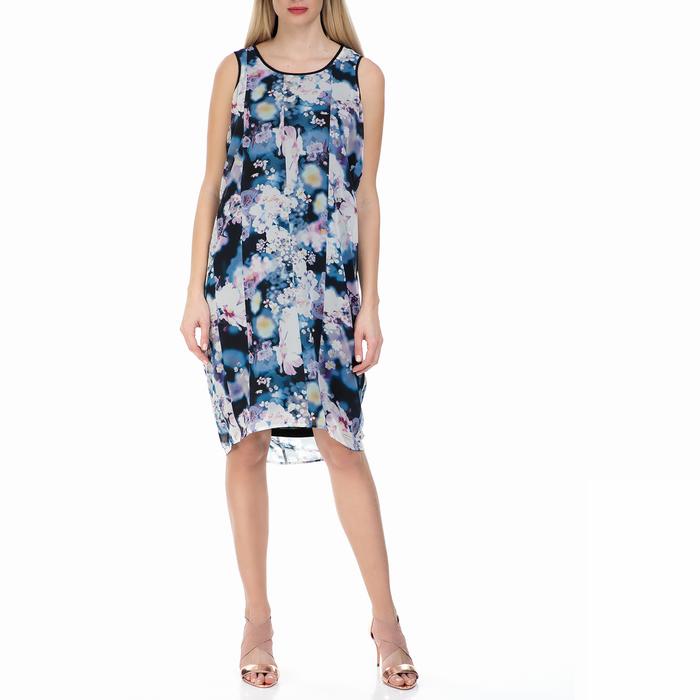 CALVIN KLEIN JEANS - Γυναικείο αμάνικο φόρεμα Calvin Klein Jeans φλοράλ