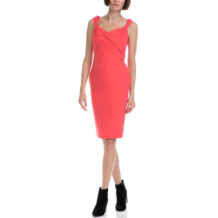 GUESS - Γυναικείο φόρεμα GUESS πορτοκαλί