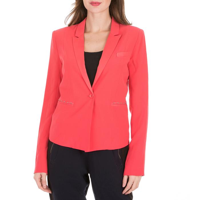 GUESS - Γυναικείο σακάκι GUESS IRAIS BLAZER κόκκινο