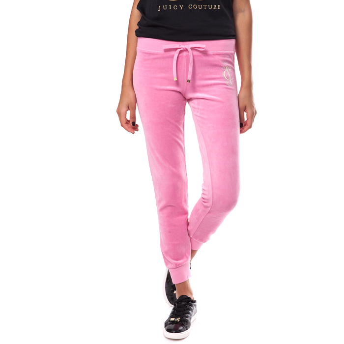 JUICY COUTURE - Γυναικείο παντελόνι Juicy Couture ροζ