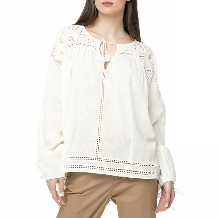 SCOTCH & SODA - Γυναικεία πουκαμίσα SCOTCH & SODA λευκή