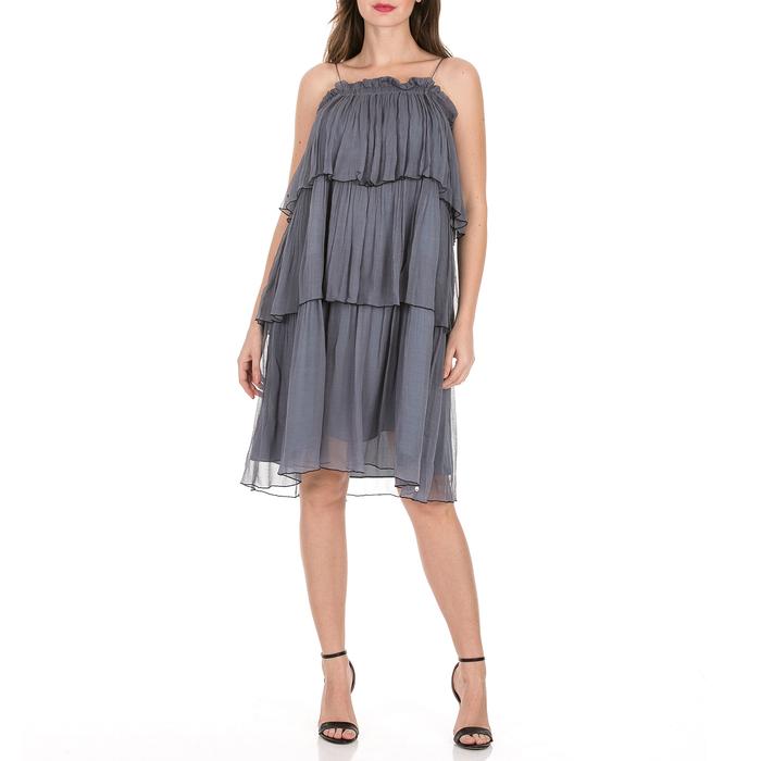 SCOTCH & SODA - Γυναικείο μίνι φόρεμα SCOTCH & SODA γκρι