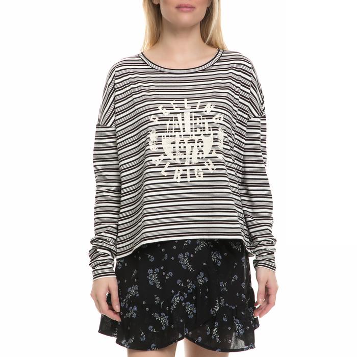 JUICY COUTURE - Γυναικεία μακρυμάνικη μπλούζα JUICY COUTURE με ρίγες