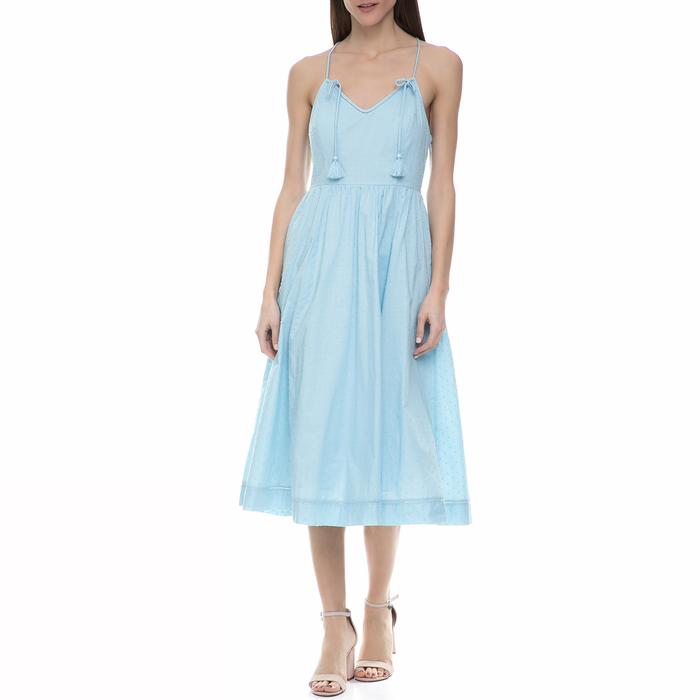 JUICY COUTURE - Γυναικείο midi φόρεμα Juicy Couture γαλάζιο