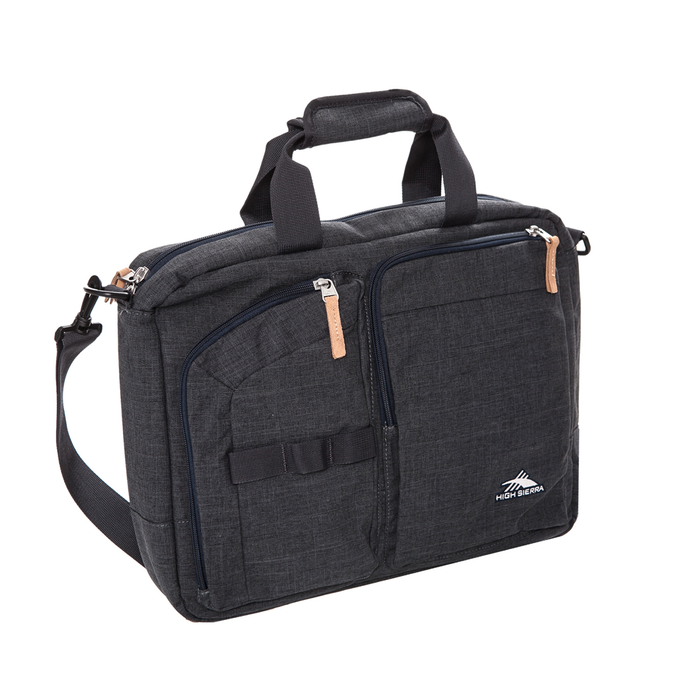 HIGH SIERRA - Τσάντα laptop/backpack High Sierra MAPUTO BRIEFCASE γκρι