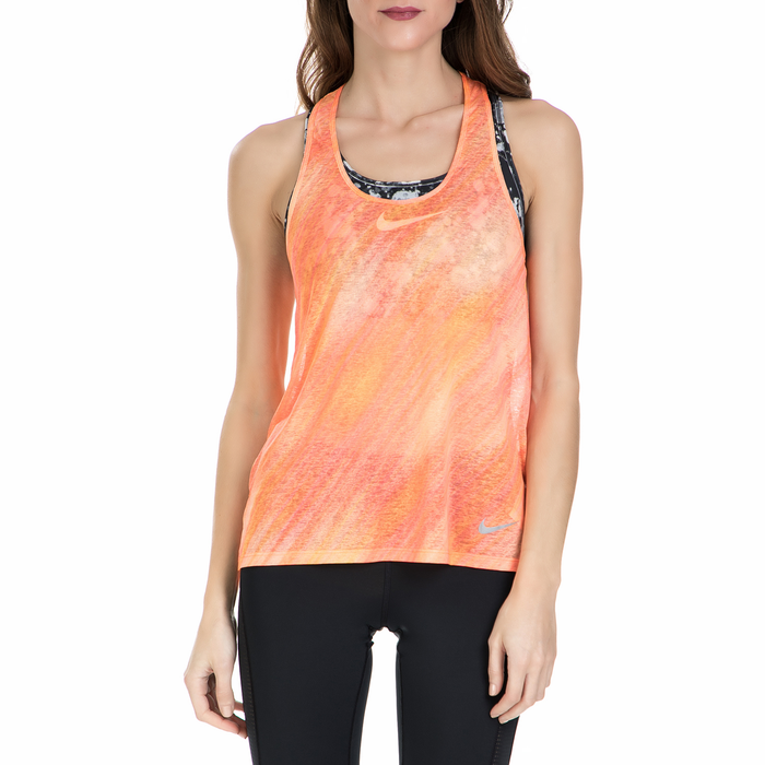 NIKE - Γυναικείο αθλητικό φανελάκι Nike BRTHE πορτοκαλί