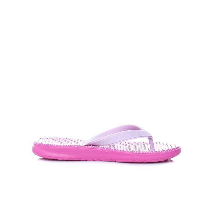 NIKE - Γυναικείες σαγιονάρες Nike Solay thong ροζ με pirnt