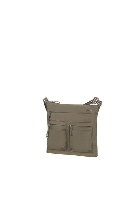 SAMSONITE - Γυναικεία τσάντα ώμου FLAT SHOULDER BAG IPAD 1ST χακί
