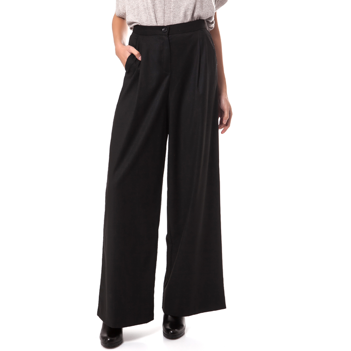 MOTIVI - Γυναικεία παντελόνα MOTIVI μαύρη