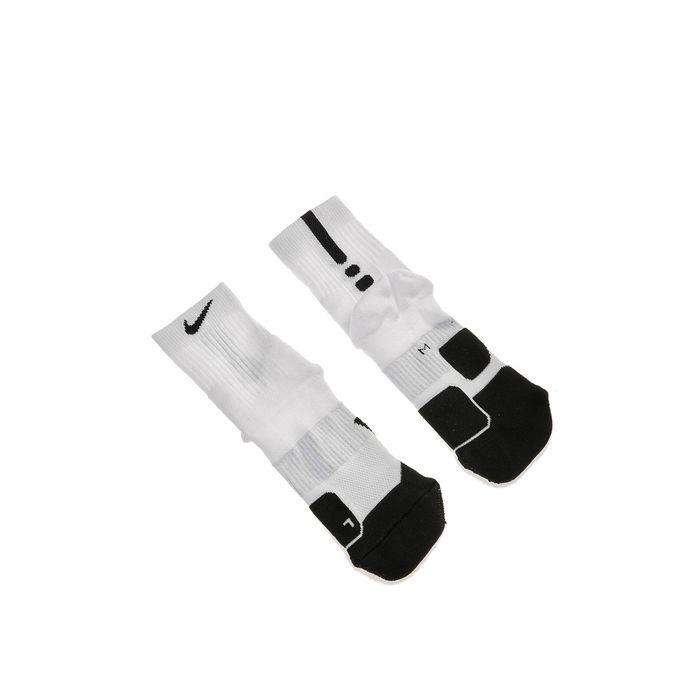 NIKE - Unisex κάλτσες μπάσκετ NIKE ELT MID-1.5 λευκές