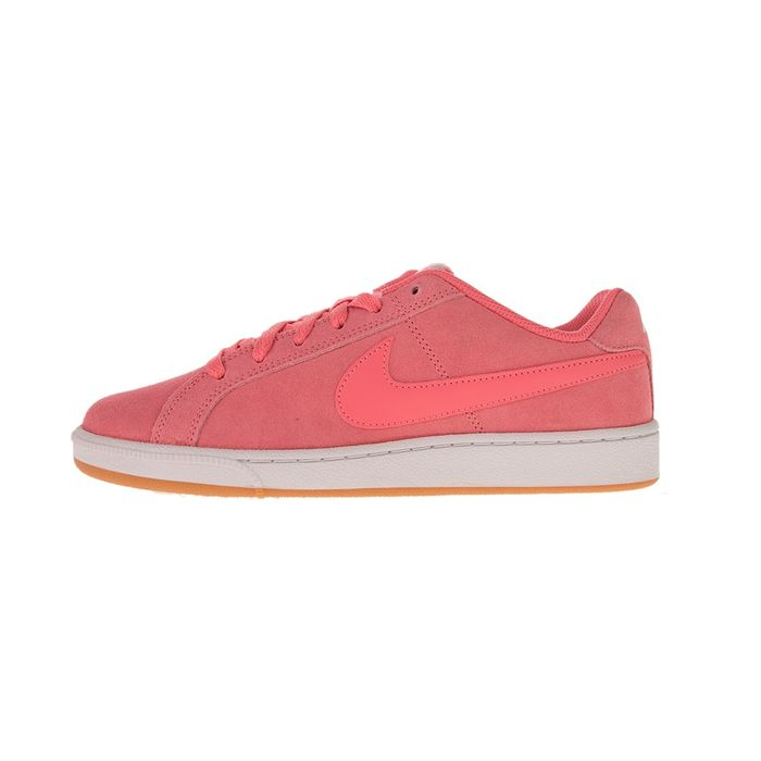 NIKE - Γυναικεία sneakers NIKE COURT ROYALE SUEDE ροζ