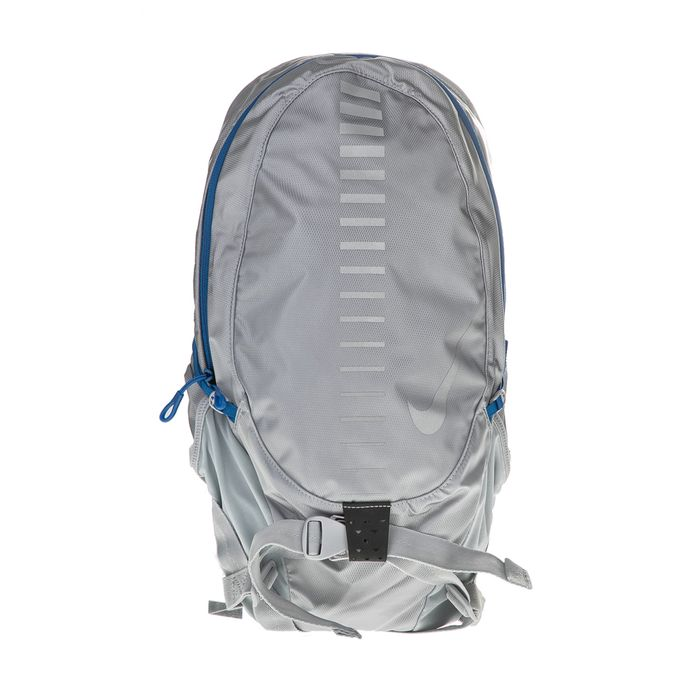 NIKE ACCESSORIES - Unisex σακίδιο πλάτης NIKE RUN COMMUTER BACKPACK 15L ασημί