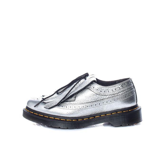 DR.MARTENS - Γυναικεία παπούτσια DR.MARTENS ασημί