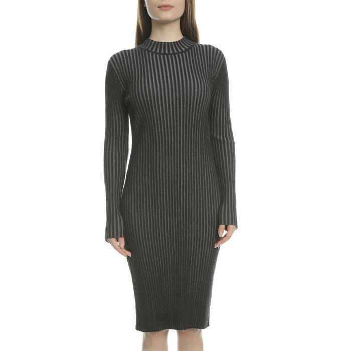 CALVIN KLEIN JEANS - Γυναικείο φόρεμα SUTTON CALVIN KLEIN JEANS μαύρο