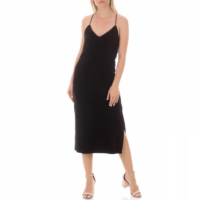 JUICY COUTURE - Γυναικείο μίντι φόρεμα JUICY COUTURE μαύρο