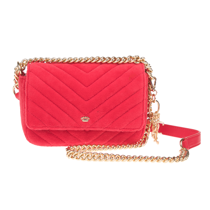 JUICY COUTURE - Γυναικεία τσάντα χιαστί FAIRMONT FAIRYTALE JUICY COUTURE κόκκινη