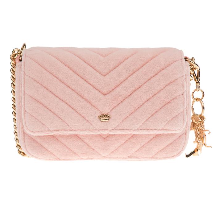 JUICY COUTURE - Γυναικεία τσάντα ώμου JUICY COUTURE FAIRMONT FAIRYTALE ροζ